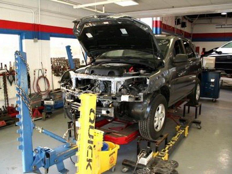 Фото сервиса по кузовному ремонту